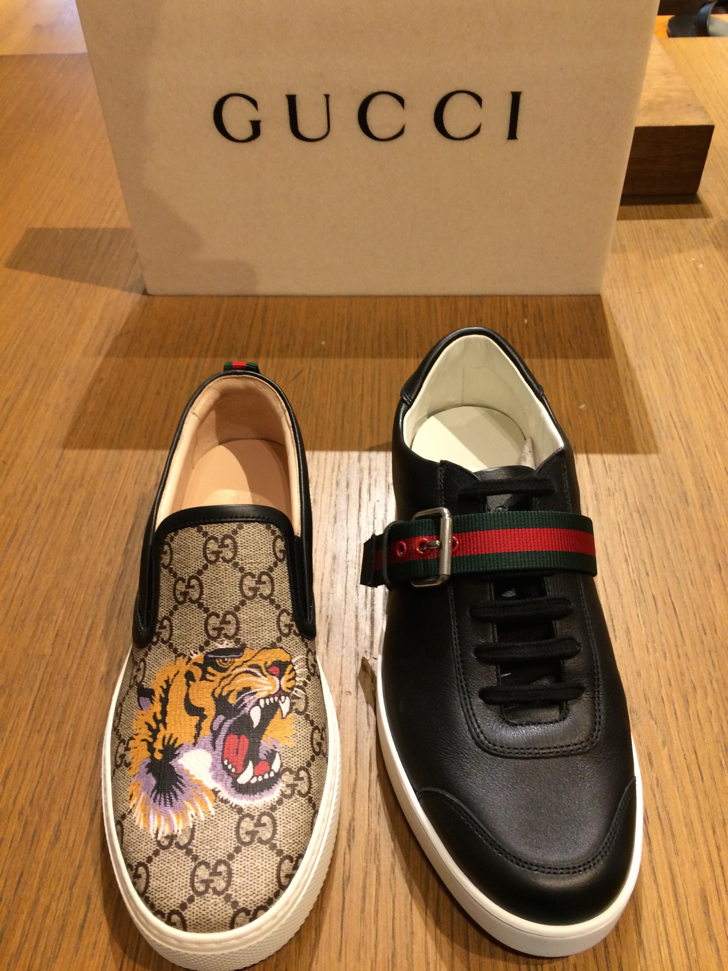 Gucci shoes at Selfridges, London – Oh